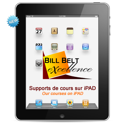Our courses on iPAD